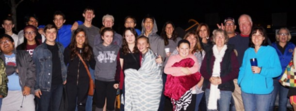 First Ever: AP Euro Stargazing Event