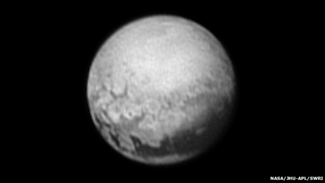 Nasa Pluto Image from July 10th