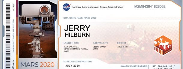 Go Flight – Mars 2020